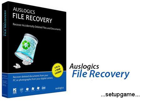 دانلود Auslogics File Recovery v8.0.5.0 - نرم افزار قدرتمند بازیابی اطلاعات