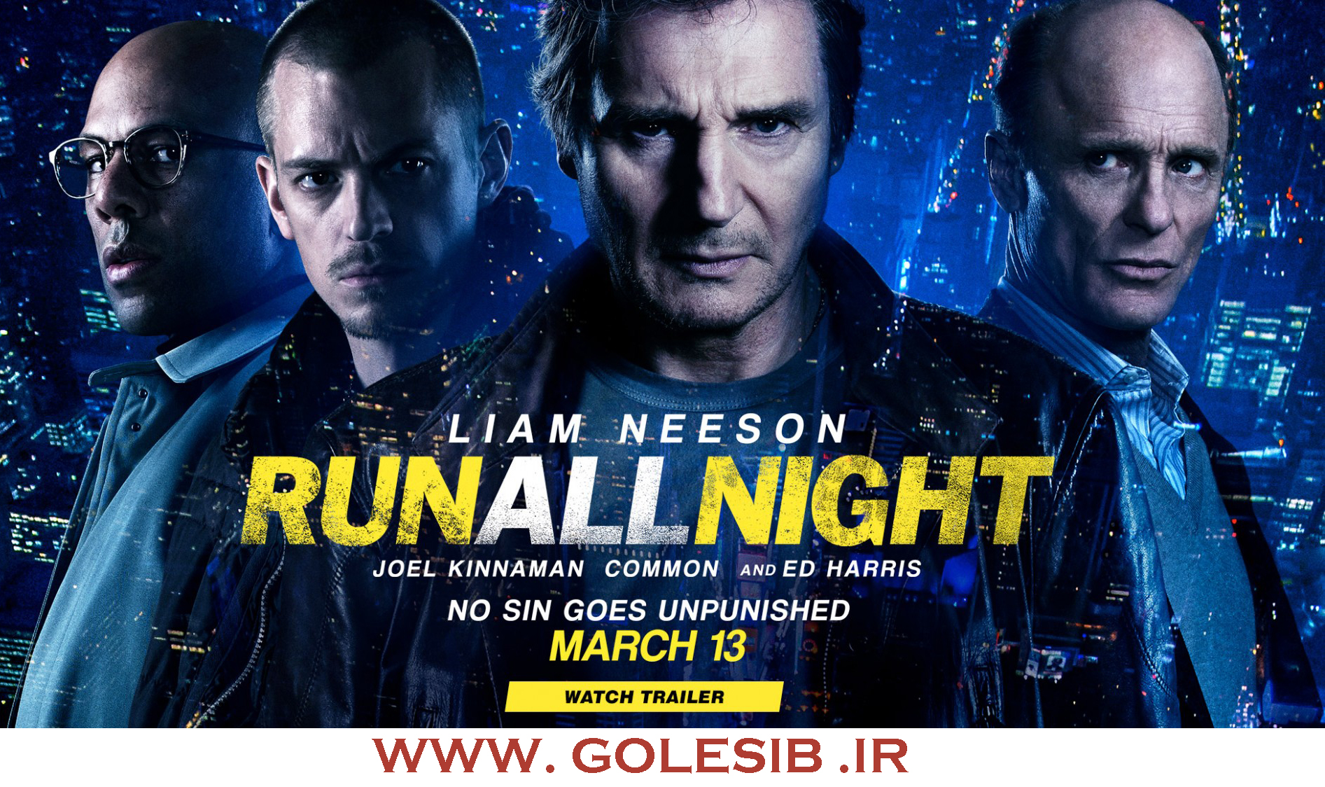 دانلود فیلم فرار در طول شب – Run All Night 2015