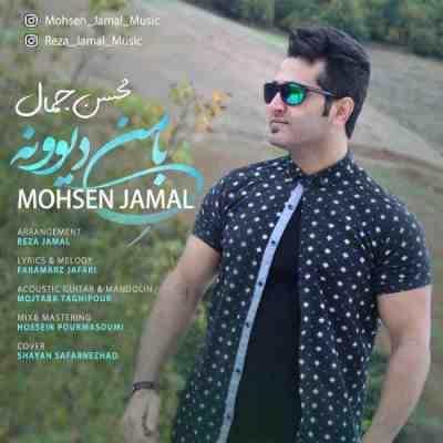 متن آهنگ من دیوونه از محسن جمال