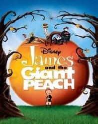 دانلود انیمشن جیمز و هلوی غولپیکر James And The Giant Peach 1996