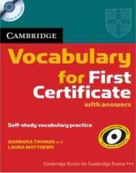 کتاب Vocabulary for First Certificate به همراه کلید سوالات