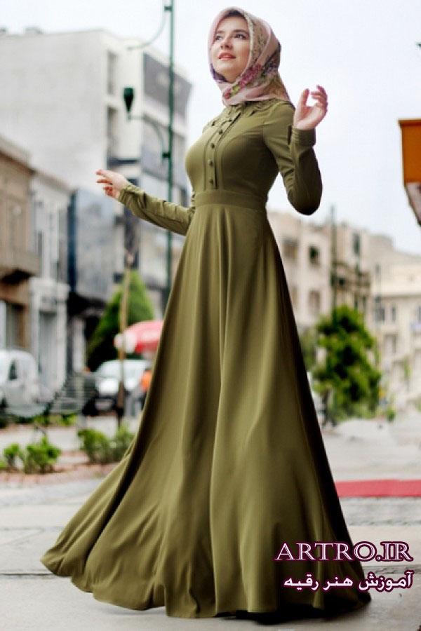 مدل لباس مجلسی پوشیده97