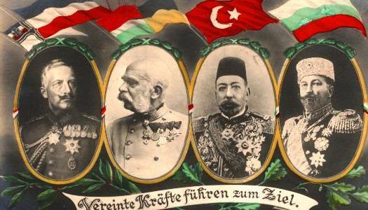 قدرتهای مرکز در جنگ جهانی اوّل به چه کشورهایی گفته میشود؟