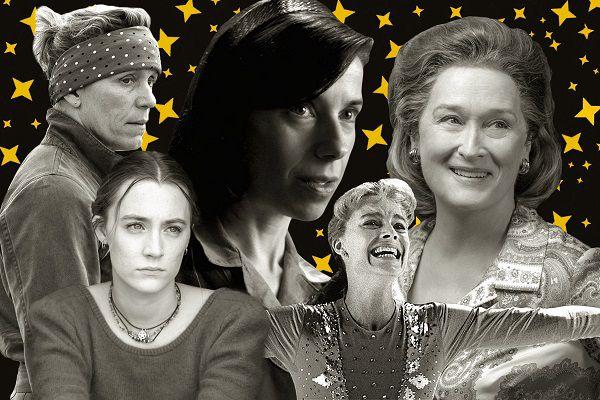 دانلود مراسم اسکار The 90th Annual Academy Awards 2018, نامزدهای بهترین بازیگر نقش اول زن در اسکار 2018