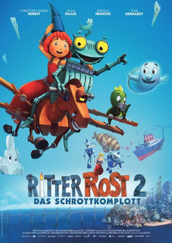 انیمیشن ربان آهنی Ritter Rost 2 2017
