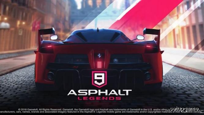 Asphalt 9: Legends منتشر شد: عنوان جدید از سری بازیهای آسفالت با گرافیک و محتویات بهبودیافته