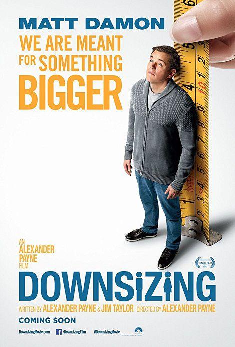 دانلود فیلم کوچک کردن Downsizing 2017