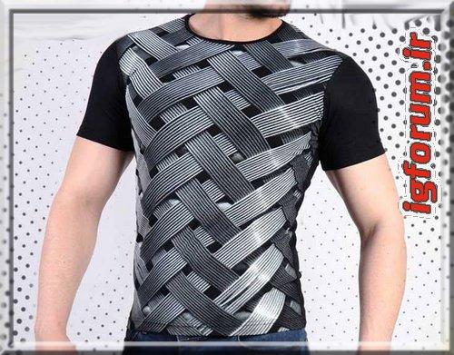 خرید بلوز تابستانه بهاری اسپرت سه بعدی مردانه 2018