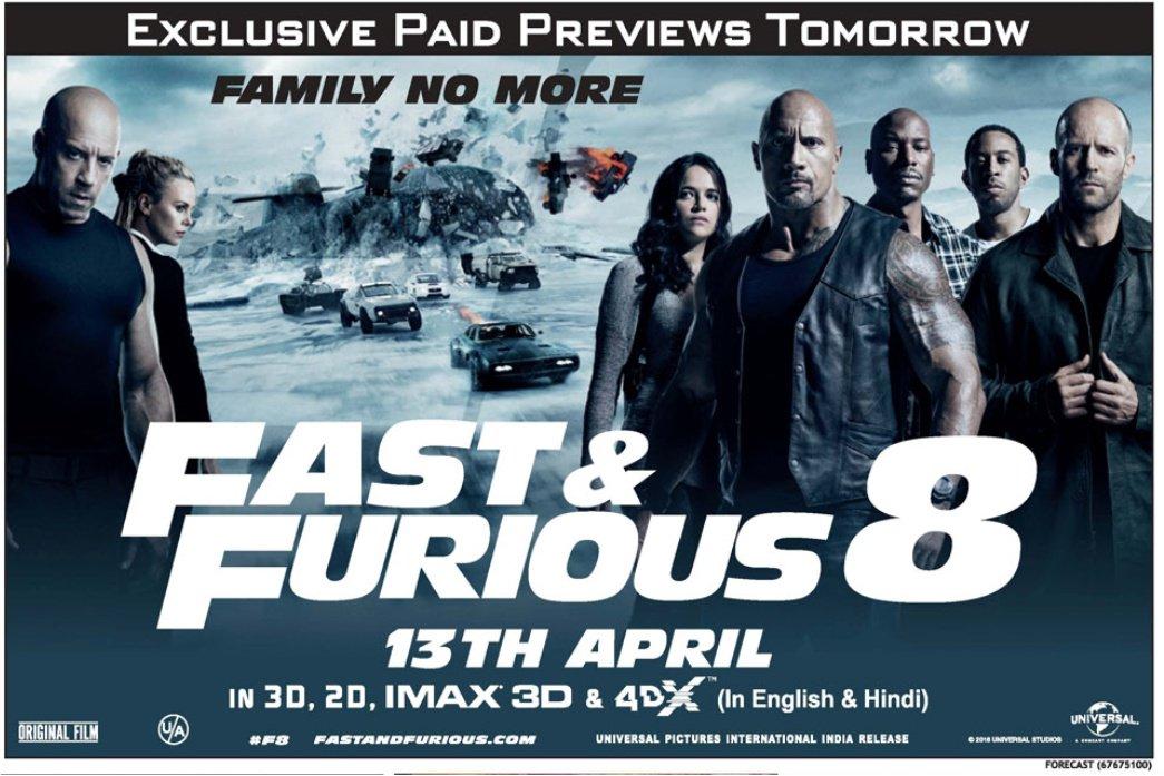 دانلود فیلم Fast And Furious 8 2017