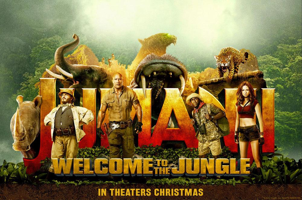 دانلود فیلم خارجی Jumanji: Welcome to the Jungle 2017