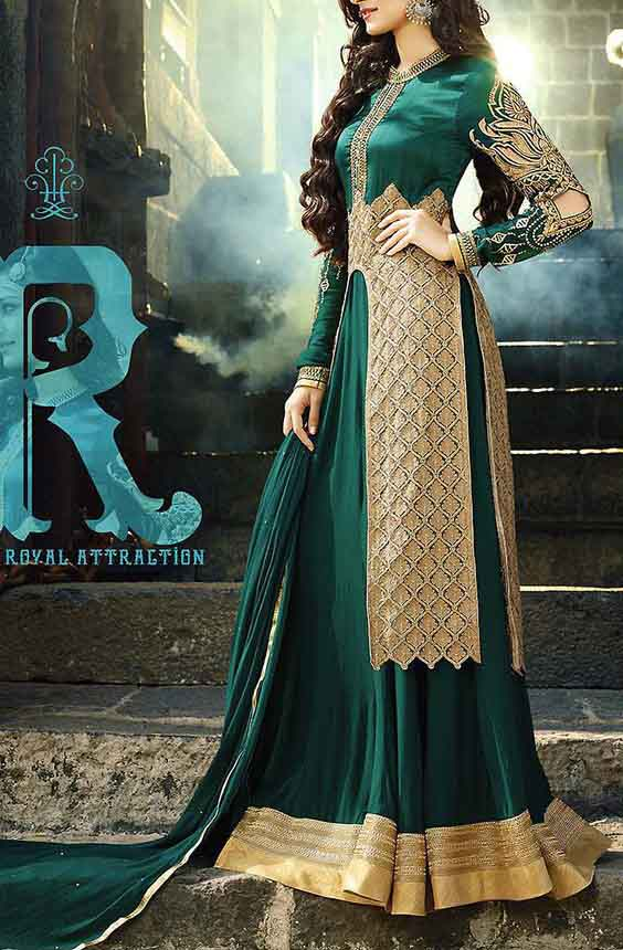مدل لباس مجلسی زنانه هندی2018