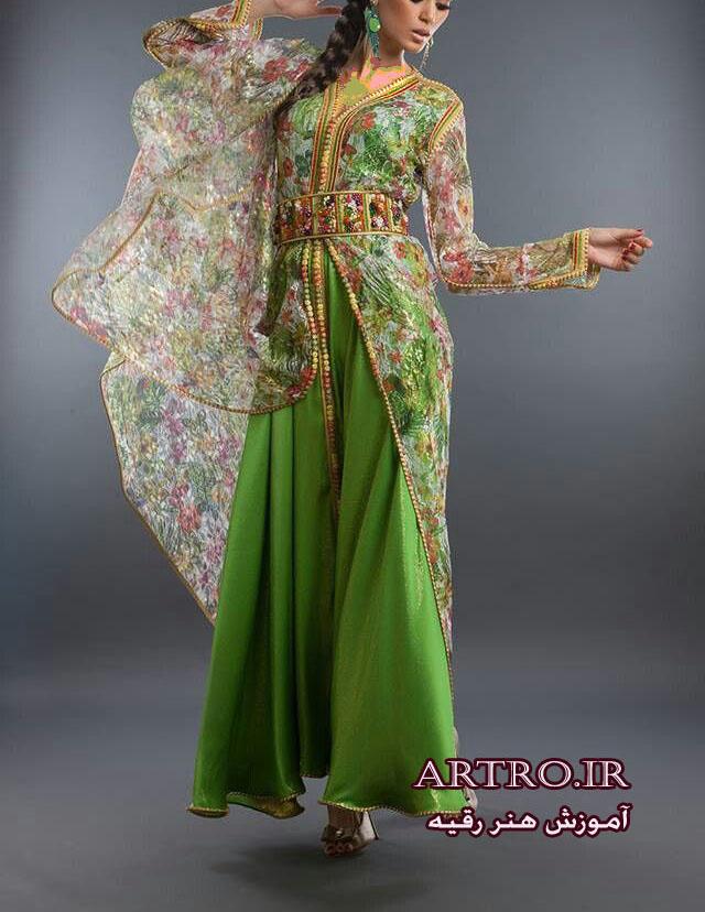 مدل لباس مجلسی زنانه مراکشی