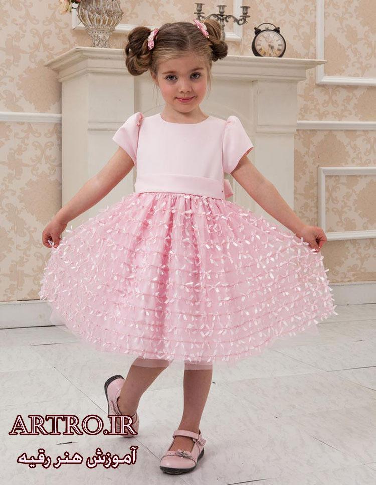 مدل لباس بهاری دختربچه2018