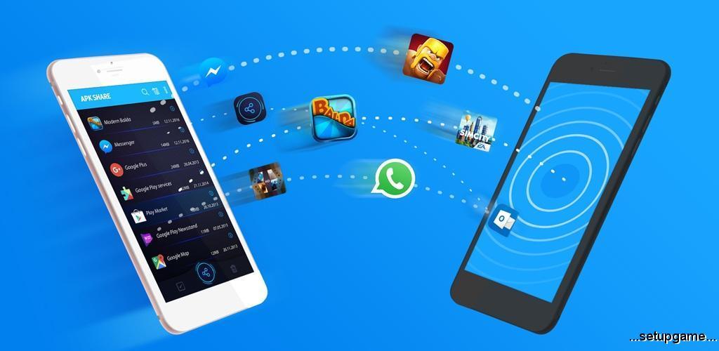دانلود Bluetooth App Sender 2.5.1 – بهترین ابزار اشتراک گذاری برنامه ها اندروید !
