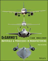 حل تمرین کتاب مواد و فرآیند ها در ساخت و تولید DeGarmo