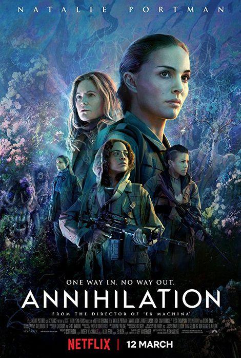 دانلود فیلم نابودی Annihilation 2018 با دوبله فارسی