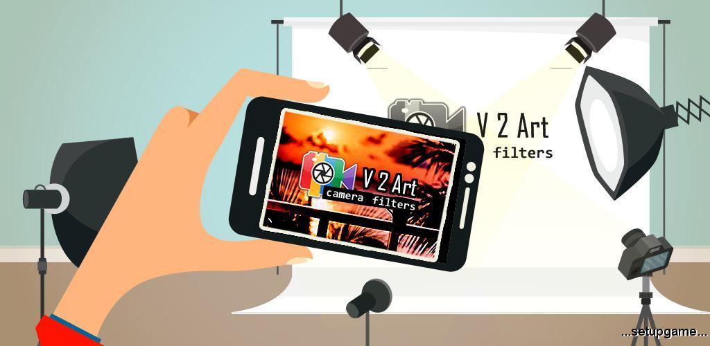 دانلود V2Art: video effects and filters PRO 1.0.5 – افکت و فیلتر ها هنری ویدئو اندروید !