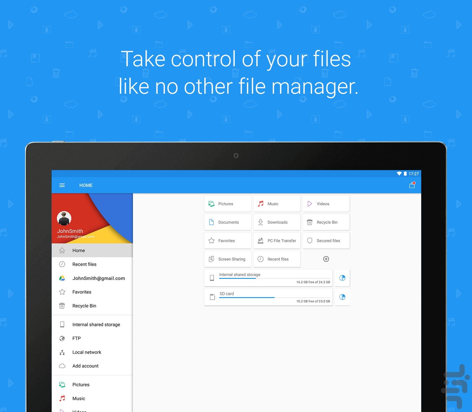 دانلود رایگان File Commander Full Version Key