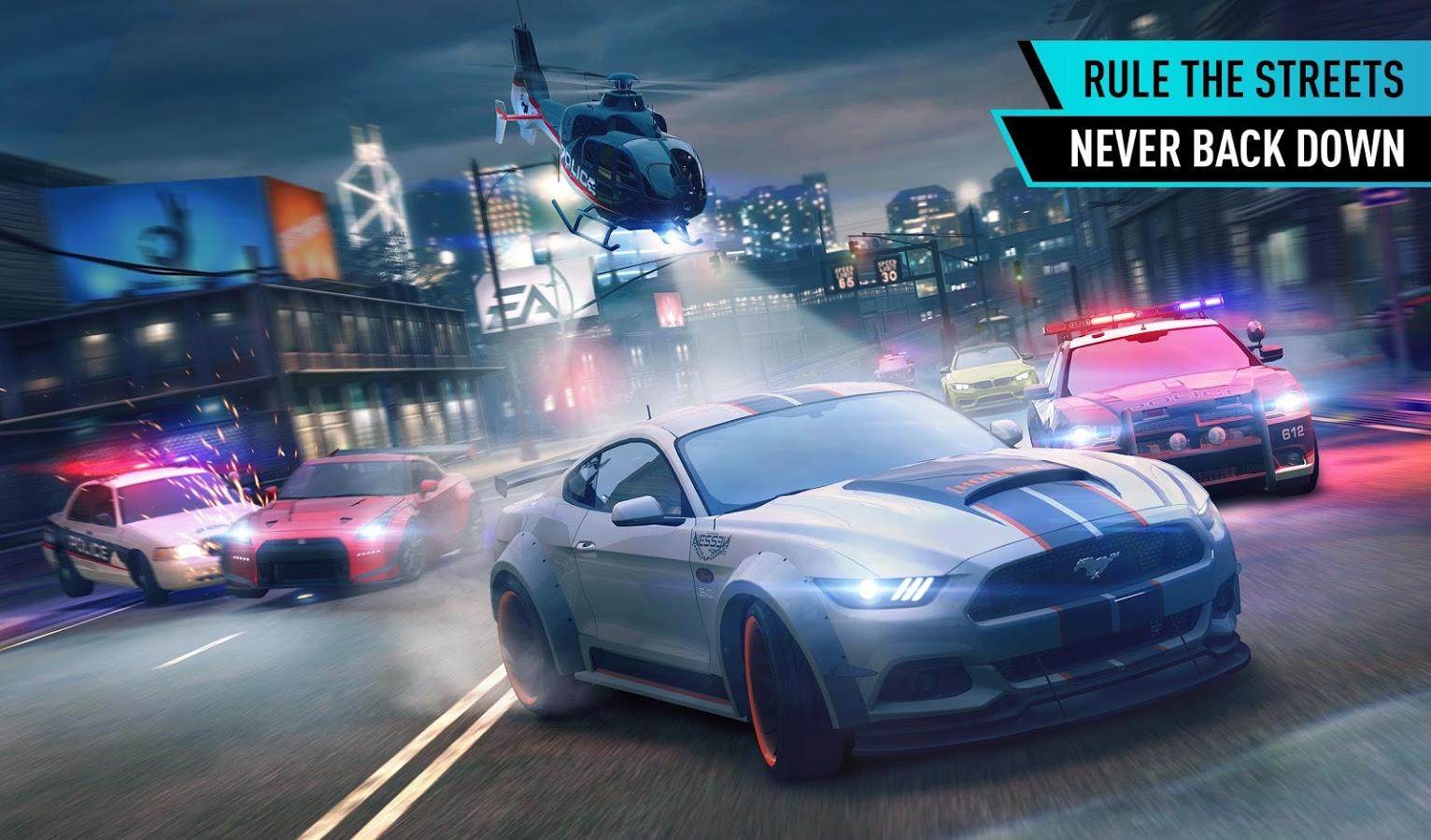 دانلود بازی جنون سرعت : نامحدود Need for Speed™ No Limits