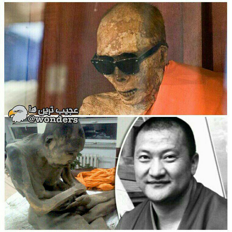 راهبان بودایی، خود را در زمانی که زنده هستند مومیایی می کنند!