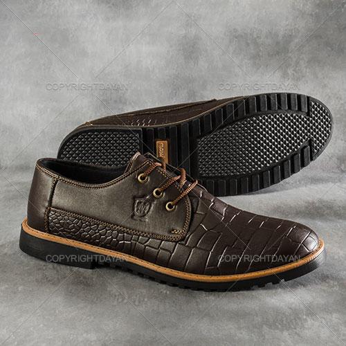کفش مردانه Massimo Dutti مدل Portorico(قهوه ای)