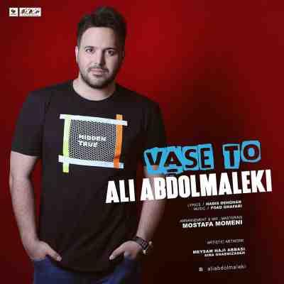 متن آهنگ واسه تو از علی عبدالمالکی