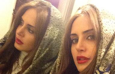 عکس سفر الناز شاکردوست و خواهرش در بارسلونا