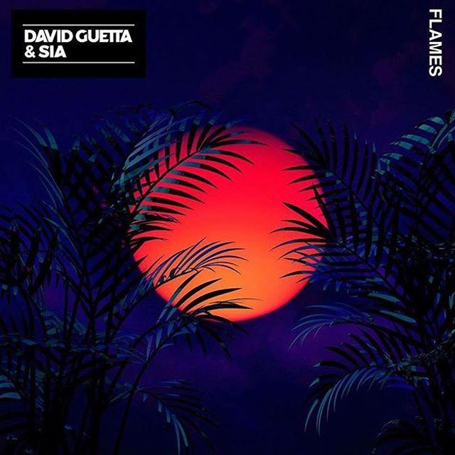 متن آهنگ Flames از David Guetta و Sia
