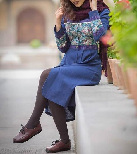 مدل مانتو عید دخترانه سال جدید