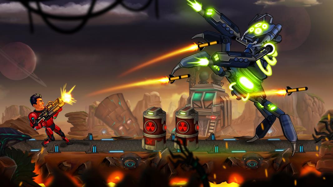 دانلود Alpha Guns 2 5.4 - بازی اکشن اسلحه های آلفای 2 برای اندروید + مود
