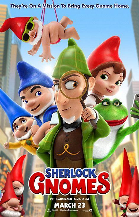 دانلود انیمیشن شرلوک گنومز Sherlock Gnomes 2018