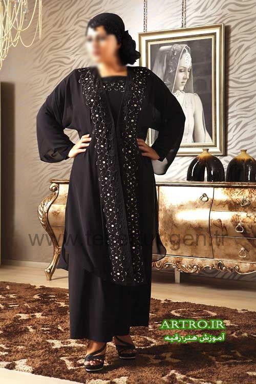 مدل لباس مجلسی سایز بزرگ2018