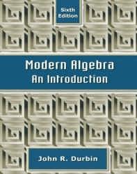 حل تمرین کتاب مقدمه ای بر جبر مدرن Durbin