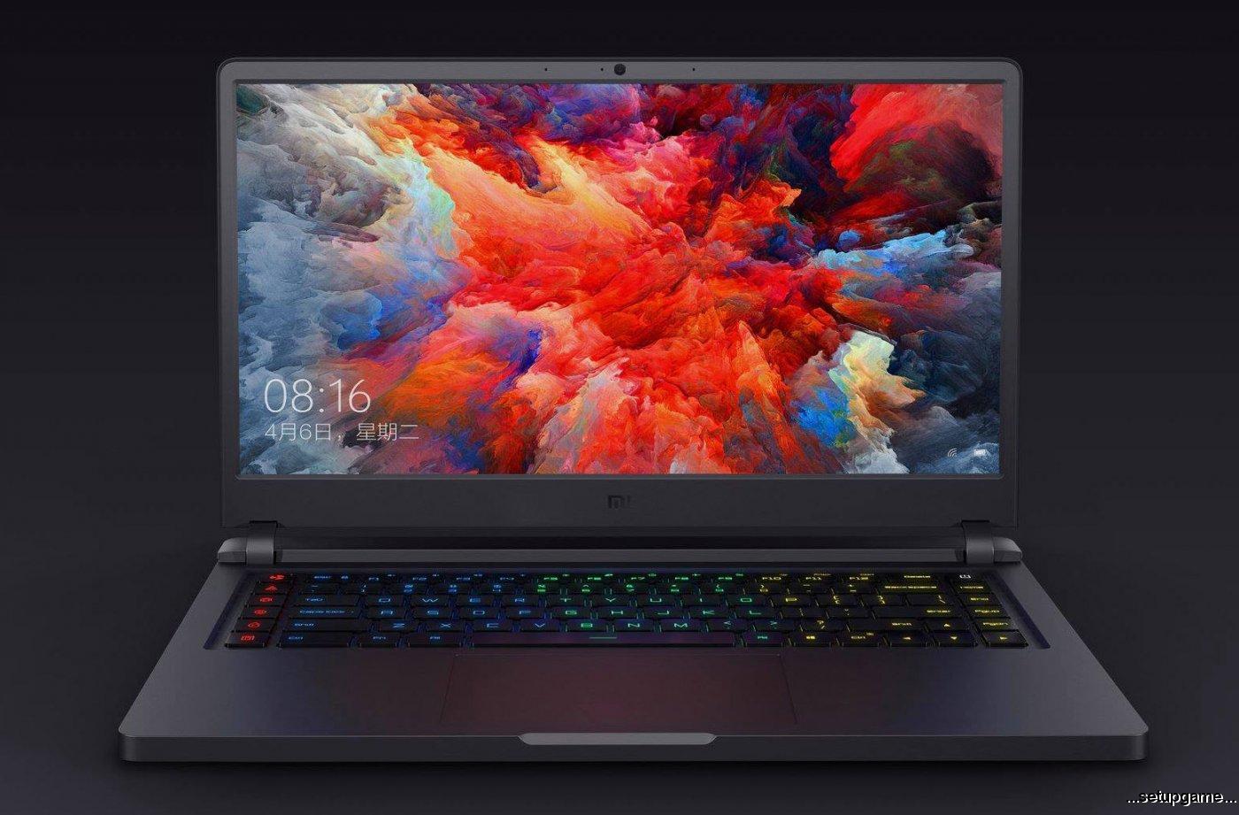 لپ تاپ گیمینگ شیائومی با گرافیک GTX 1060 و قیمت 1450 دلار معرفی شد