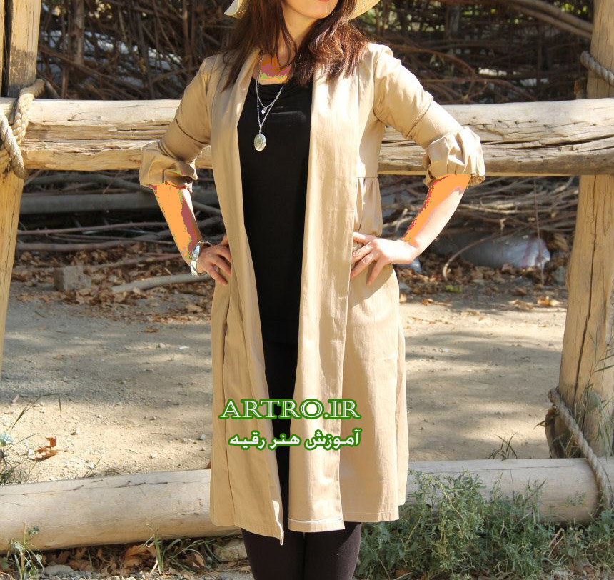 مدل مانتو نخی ایرانی جدید