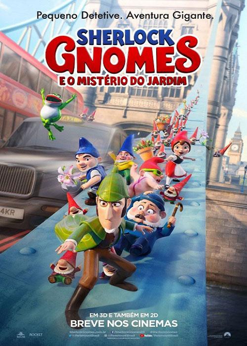 دانلود انیمیشن شرلوک گنومز 2018 Sherlock Gnomes