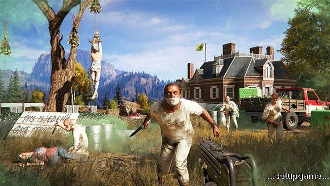 بازی Far Cry 5 منتشر شد
