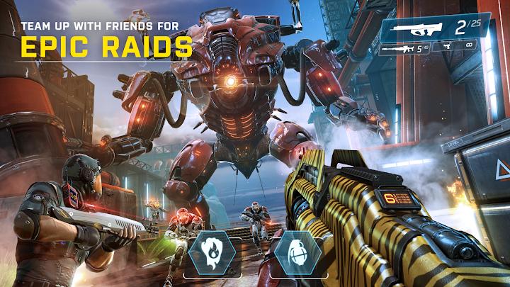 دانلود Shadowgun Legends 0.6.2 - بازی اکشن سایه تفنگ افسانه ای برای اندروید و آی او اس + مود + دیتا