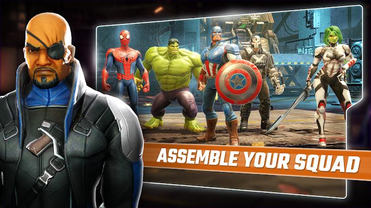 دانلود MARVEL Strike Force 1.4.1 - بازی نقش آفرینی نیروری ضربت مارول برای اندروید و آی او اس + مود
