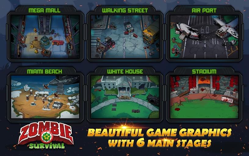 دانلود بازی زامبی بقا: بازی مردگان Cover artZombie Survival: Game of Dead