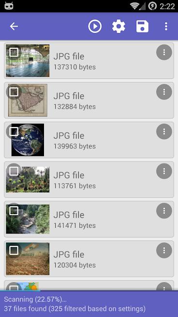 دانلود رایگان برنامه ریکاوری اطلاعات خذف شده DiskDigger Pro file recovery