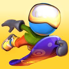 دانلود رایگان بازی RAD Boarding v1.3.2 - بازی هیجان انگیز اسکیت سواری برای اندروید و آی او اس