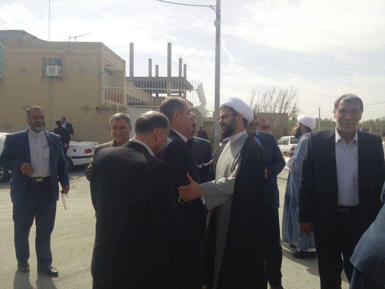 دیدار نوروزی امام جمعه محترم شهر قهدریجان با بخشدار محترم قهدریجان