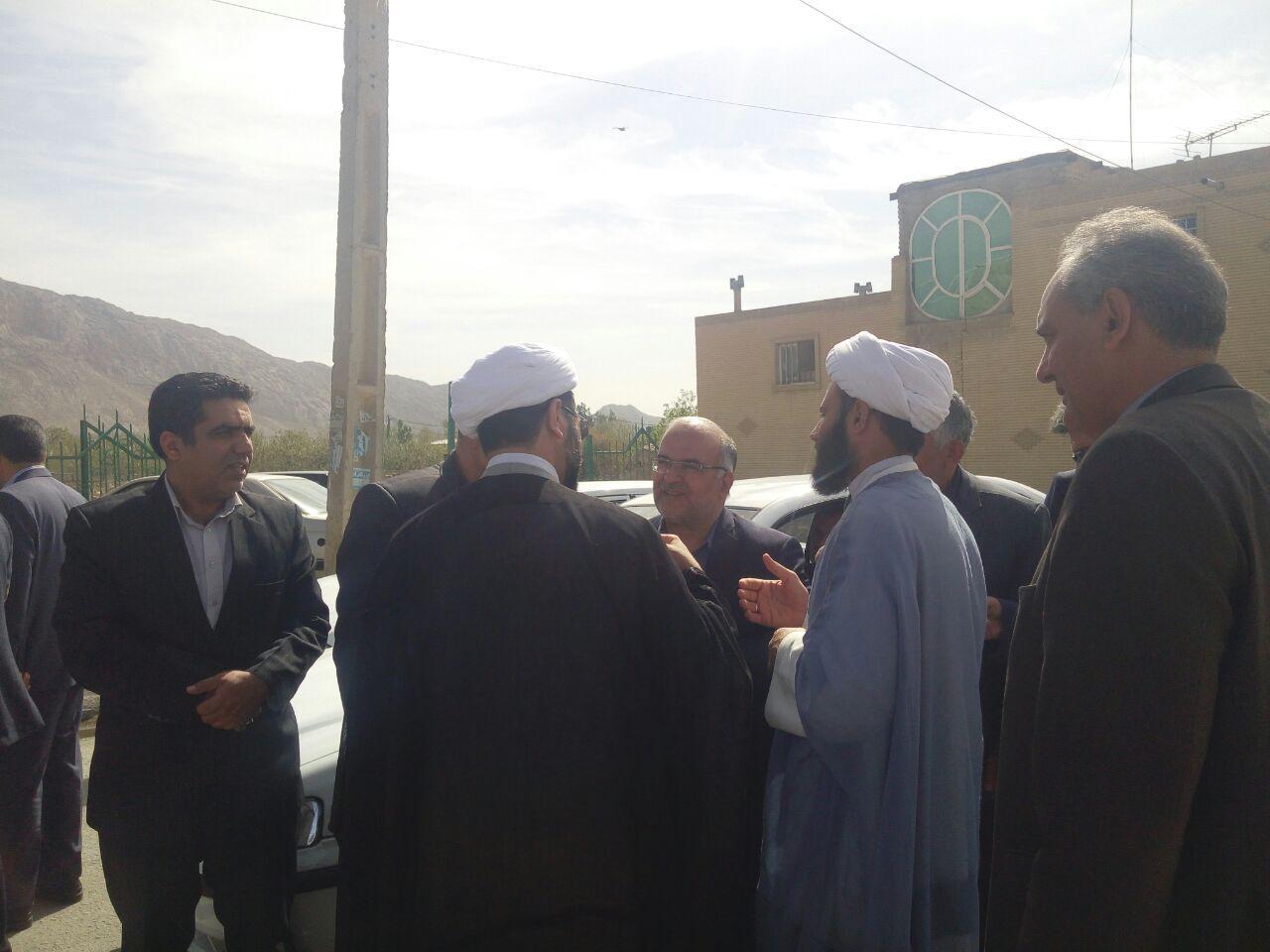 دیدار نوروزی امام جمعه محترم شهر قهدریجان با فرماندار محترم شهرستان