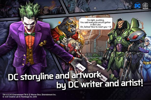 دانلود بازی قهرمانان دی سی DC: UNCHAINED