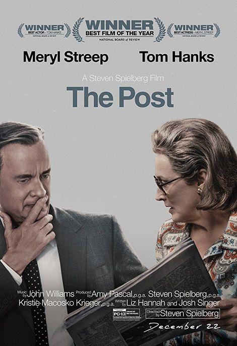 دانلود فیلم پست The Post 2017 دوبله فارسی