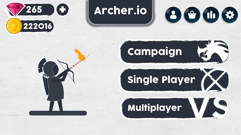 دانلود بازی آرچر : داستان تیرو کمان Archer.io: Tale of Bow & Arrow