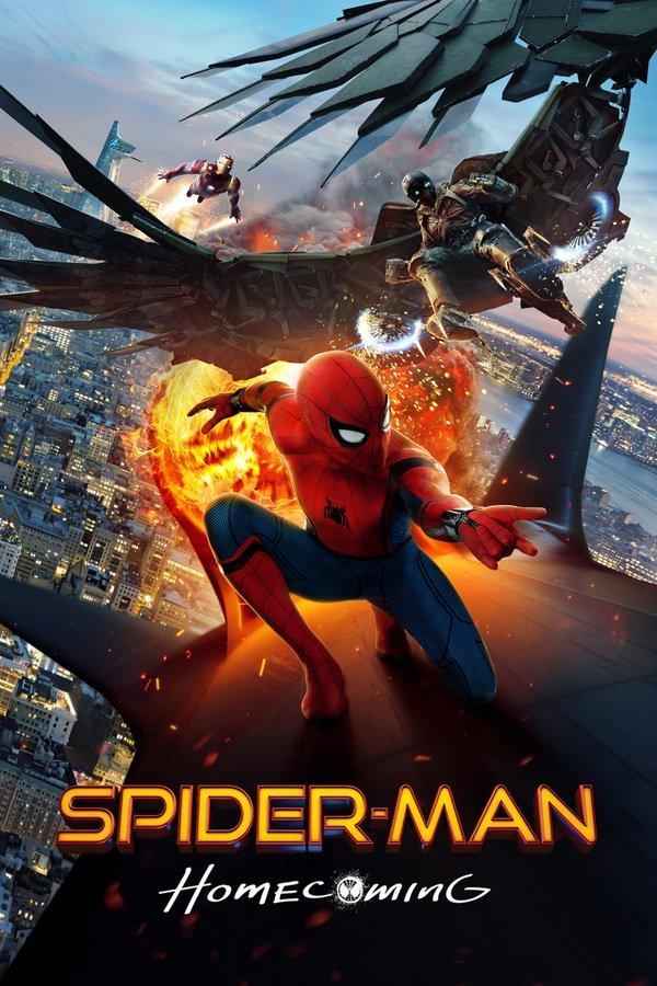 دانلود فیلم مرد عنکبوتی شگفت انگیز 2 : بازگشت به خانه دوبله فارسی