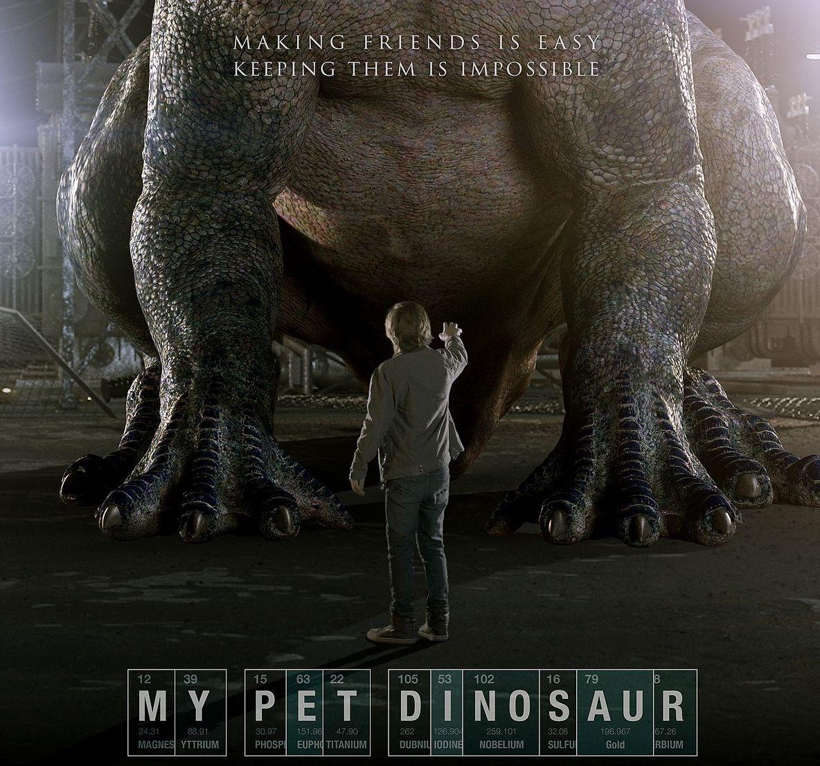 فیلم 2017 My Pet Dinosaur دوبله فارسی