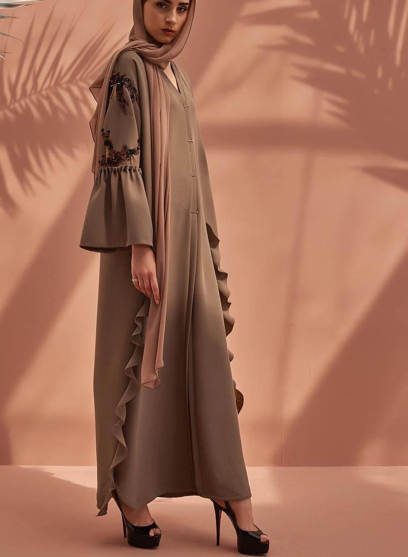 مدل مانتو بلند زنانه2019